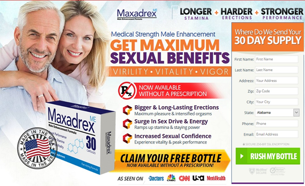 "Maxadrex – Male Enhancement – ""SHOCKING"" Reviews, Side Effects, Cost & Trial"