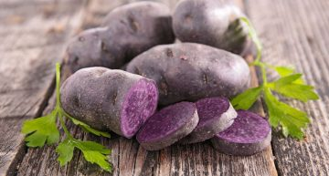 PURPLE POTATOES ARE MORE THAN JUST THEIR COLOUR
